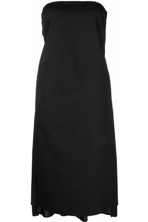 Nº21 Women Party Dresses - Bow-embellished strapless dress