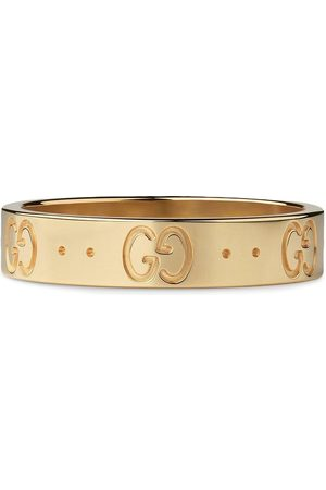Gucci Women Rings - 18kt yellow Icon band ring