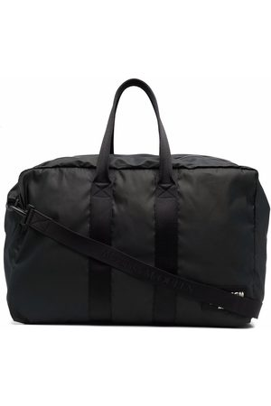 Alexander McQueen Large logo patch holdall tote