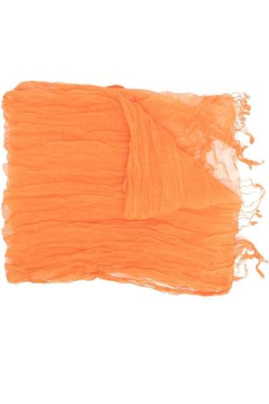 Issey Miyake Scarves - 2000s creased-effect scarf