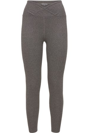 YEAR OF OURS Veronica High Waist Ribbed Leggings