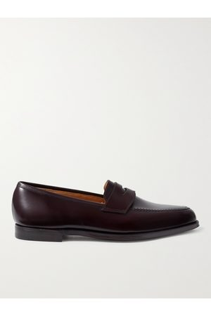 GEORGE CLEVERLEY Bradley Leather Penny Loafers