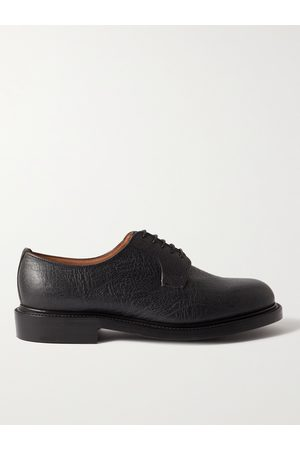 GEORGE CLEVERLEY Archie III Full-Grain Leather Derby Shoes