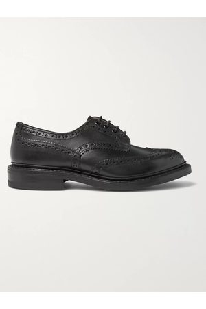 TRICKERS Men Brogues - Bourton Leather Wingtip Brogues