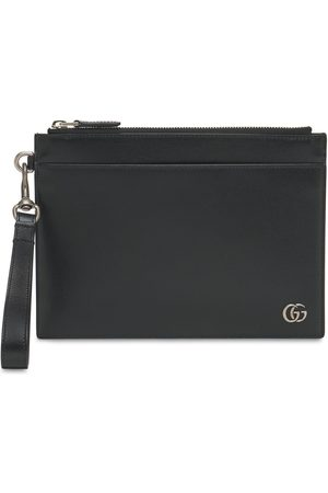 Gucci Men Wallets - Gg Marmont Leather Pouch
