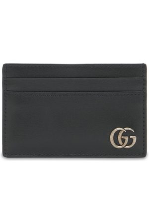 Gucci Men Wallets - Gg Marmont Leather Card Case