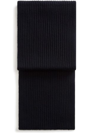 Dolce & Gabbana Ribbed knitted long scarf