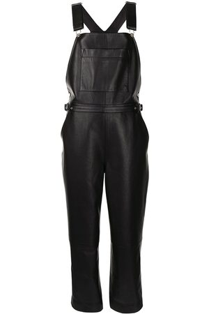 PROENZA SCHOULER WHITE LABEL Women Jumpsuits - Belted nappa leather jumpsuit