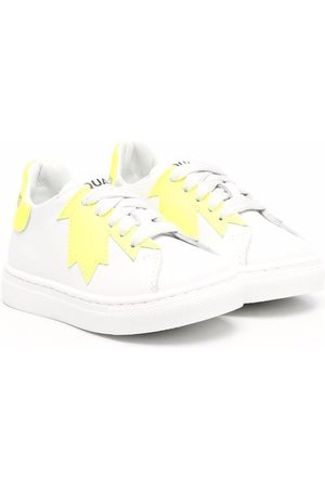 Dsquared2 Kids Maple leaf-print sneakers