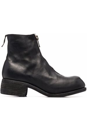 GUIDI Men Ankle Boots - Zip-up leather ankle boots