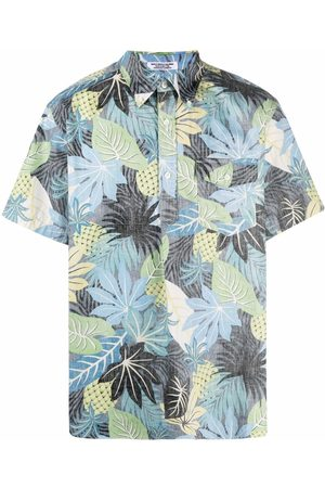 ENGINEERED GARMENTS Popover BD faded-floral shirt