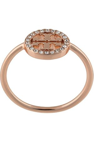 Tory Burch Women Rings - MILLER PAVE DELICATE RING
