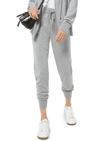 Michael Kors High-Rise Slim-Fit Joggers