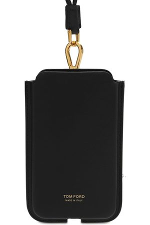 Tom Ford Logo Phone Cover W/neck Strap