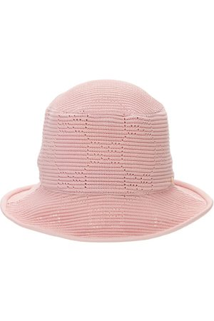 Gucci Women Hats - Gg Cable Knit Crochet Fedora Hat