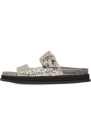 Jimmy Choo Women Sandals - 20mm Marga Glittered Sandals
