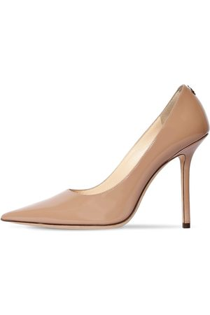 Jimmy Choo 100mm Love Patent Leather Pumps