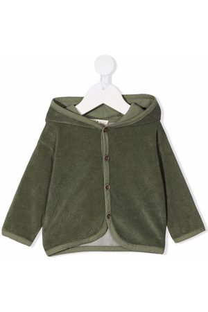Babe And Tess Hooded cotton jacket