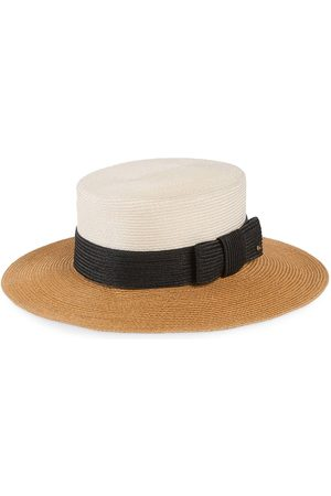 Gucci Wide-brim straw-effect hat