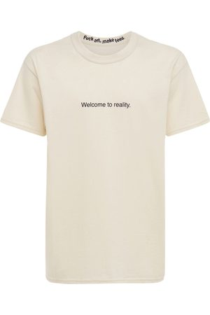 F.A.M.T. Men T-shirts - Welcome To Reality Cotton T-shirt