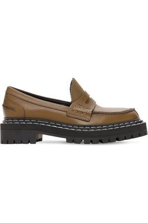 Proenza Schouler Women Loafers - 30mm Lug Leather Loafers