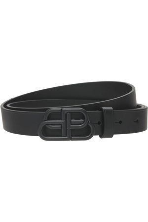 Balenciaga Bb Leather Belt