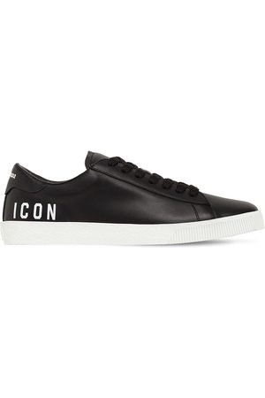 DSQUARED2 Men Sneakers - Boxer Mini Icon Leather Low Sneakers