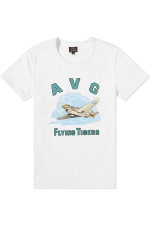 The Real McCoys Men T-shirts - Avg H81-A2 Military Tee