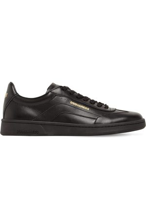 Dsquared2 Boxer 551 Leather Low-top Sneakers