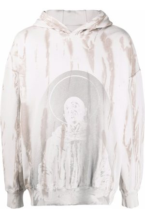 A-cold-wall* Tie-dye cotton hoodie
