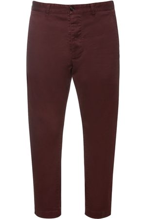 Dsquared2 Hockney Stretch Cotton Twill Pants