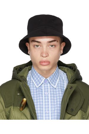 Men Hats - Burberry Reversible Logo Bucket Hat
