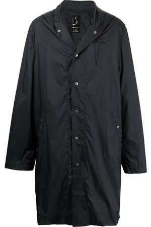 Rick Owens Logo-embroidered hooded parka