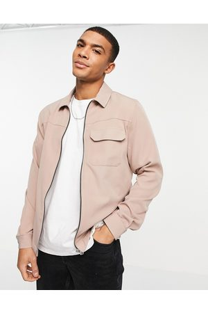 River Island Men Casual - Over shirt jacket in light