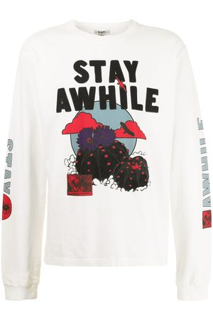 Phipps Stay Awhile graphic-print T-shirt