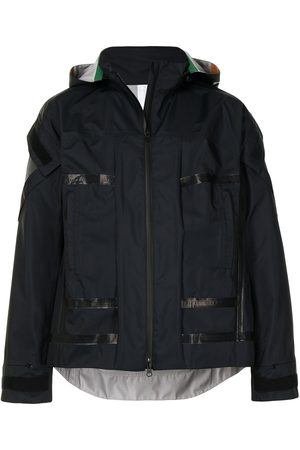 UNDERCOVER A-print hooded jacket