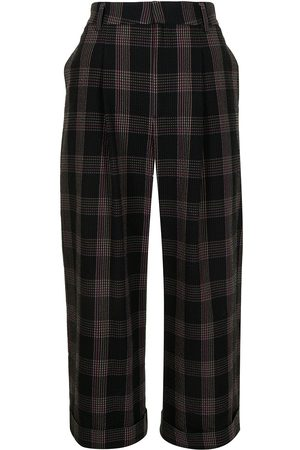 Paul Smith Cotton seesucker cropped trousers