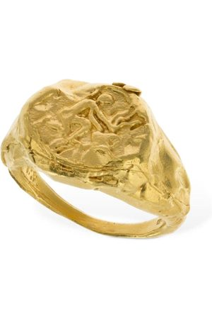 ALIGHIERI Aquarius Signet Ring