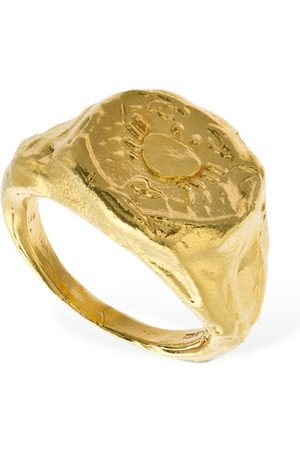 Alighieri Women Rings - Cancer Signet Ring