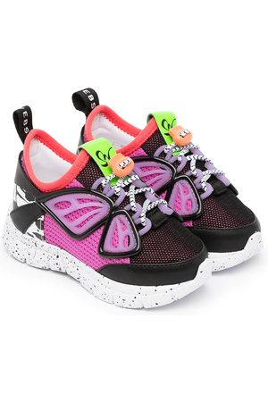 SOPHIA WEBSTER Girls Sneakers - Fly-By lace-up trainers