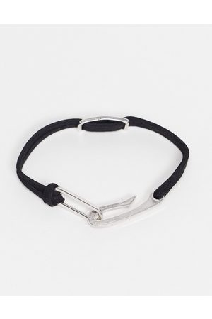 Icon Brand ID cord bracelet in