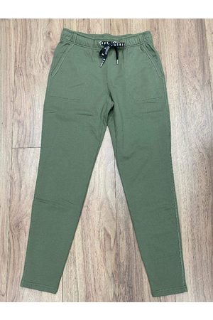 Marc Cain Sports Khaki Jogger Trousers QS 81.24 J44 592