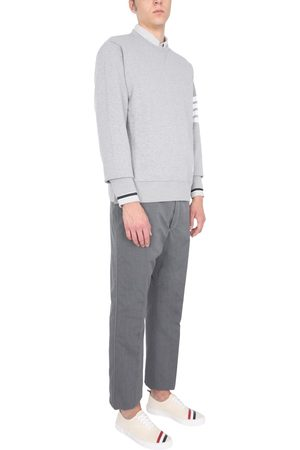 Thom Browne TROUSERS WITH CONTRAST STITCHING