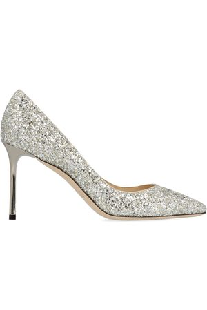 Jimmy Choo WOMEN'S ROMY85CGFCHAMPAGNE SEQUINS PUMPS