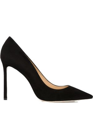Jimmy Choo WOMEN'S J000065583BLACK SUEDE PUMPS