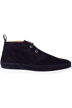 Paul Smith Men Boots - PS Paul Smith Neon Suede Boots