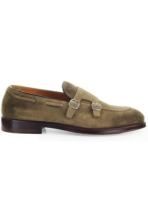 Doucal's MEN'S DU2617ORVIUY067MW08 SUEDE LOAFERS