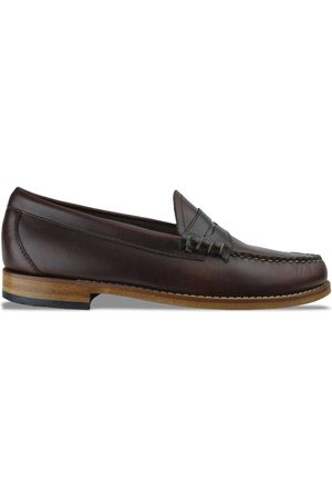G.H.BASS&CO Bass Weejuns Larson Pull Up Loafer - Dark Leather