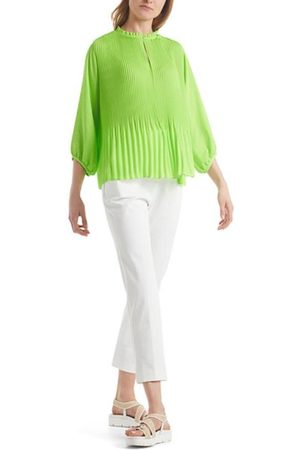 Marc Cain Additions Vibrant Pleated Blouse QA 51.08 W39 534