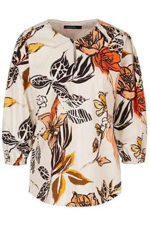 Marc Cain Collections Printed Blouse QC 51.37 W66 115